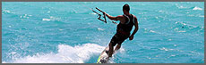 kiteboarding, kiteboarding lessons, down winder excursions